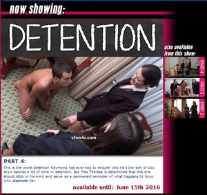 cfnmtv: Detention (Part 1-4)