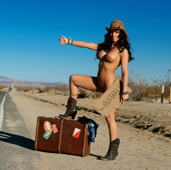 hitchhiker Madison ivy love the