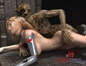Romcomics Evil zombies