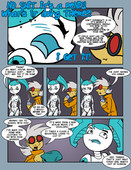 Misc My Life As A Teenage Robot XJ9 Comics and Arts