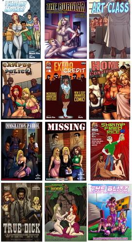 Black-And-White-Comics Siterip Cover