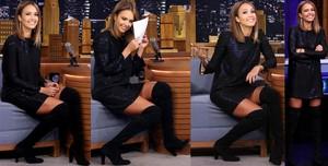 Jessica Alba Video Vestido Con Botas Altas