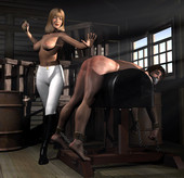 Femdom Ladies Discipline Art Compilation chapter 2