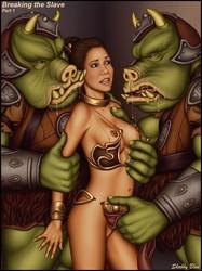 porn Leia slave