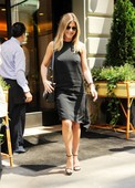 American actress Jennifer Aniston spotted at Le Bilboquet in New York